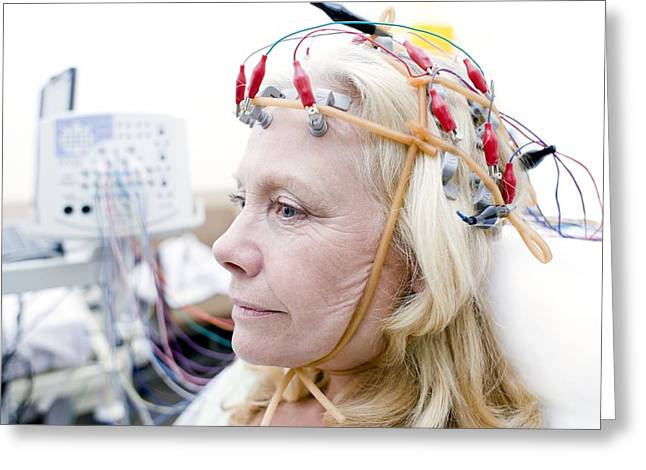 Electroencephalography Greeting Card