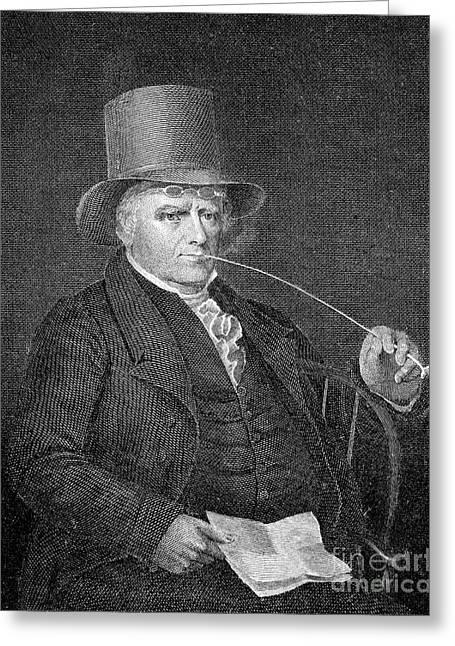 Elkanah Watson (1758-1842) Greeting Card by Granger