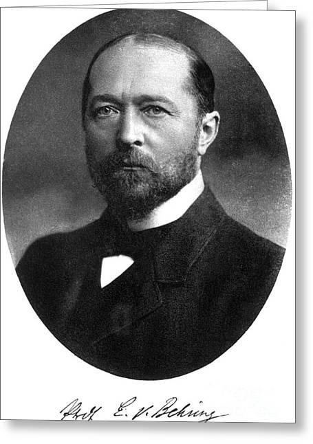 Emil Von Behring, German Immunologist Greeting Card