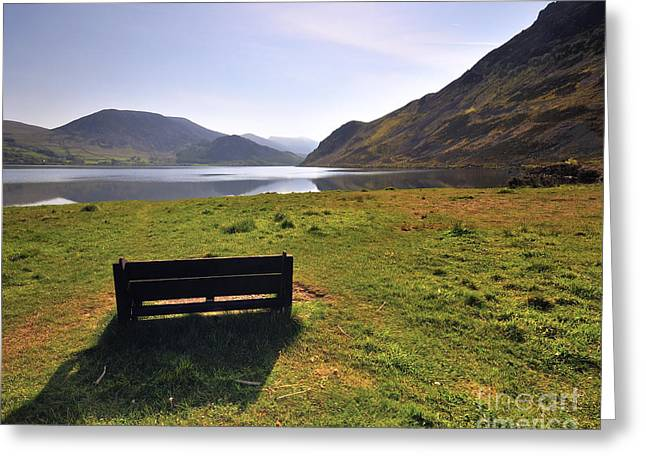 Ennerdale Cumbria Greeting Card by Jason Connolly