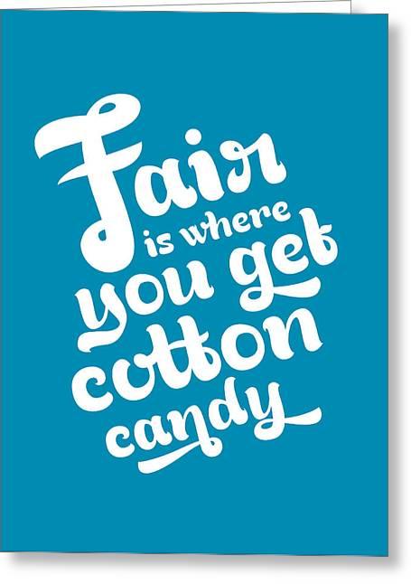 Fair Greeting Card