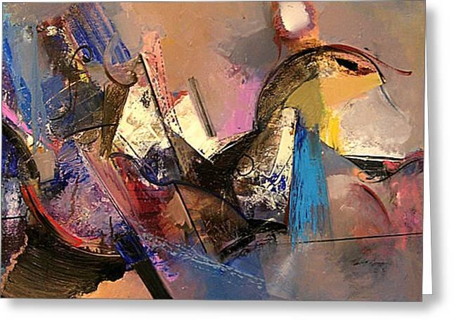Follow The Dream Greeting Card by Ognian Kuzmanov