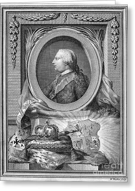 George IIi (1738-1820) Greeting Card by Granger