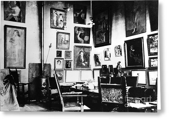 Gertrude Stein (1874-1946) Greeting Card by Granger