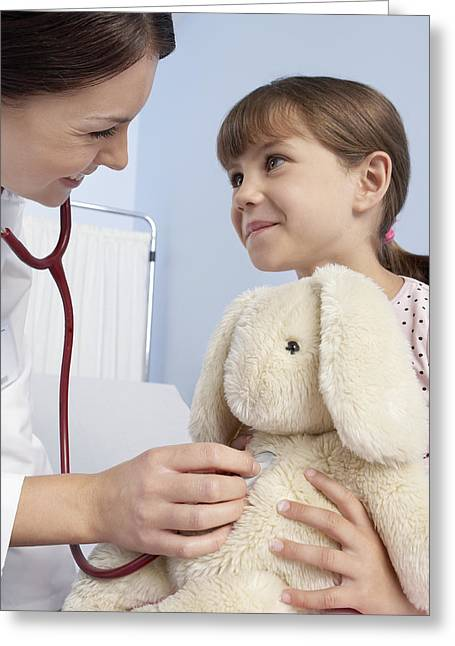 Gp And Child Greeting Card