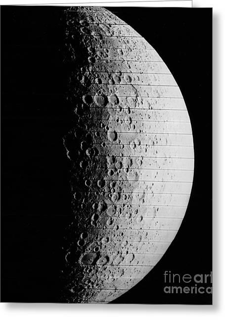 Hidden Side Of Moon Greeting Card