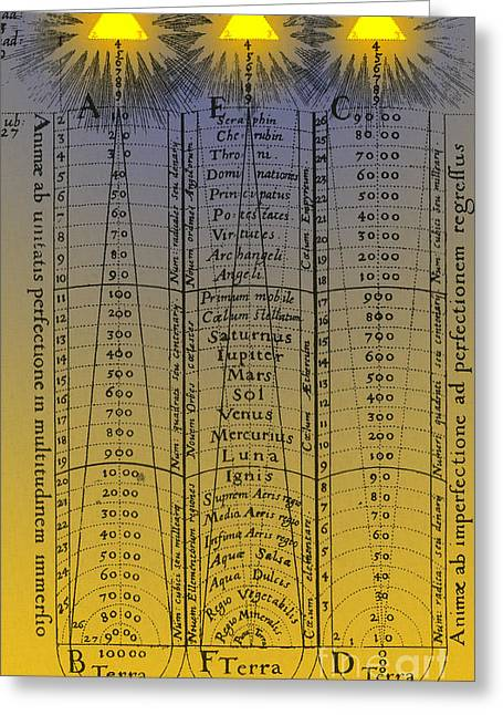 Hierarchy Of The Universe 1617 Greeting Card by Science Source
