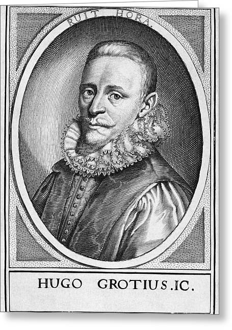 Hugo Grotius, Dutch Jurist Greeting Card