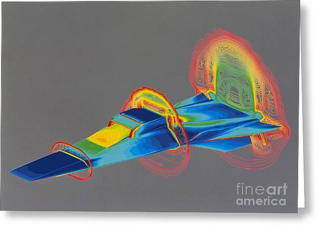 Hyperx Hypersonic Aircraft Greeting Card