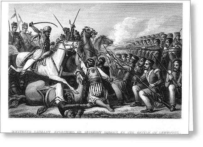 India: Sepoy Rebellion, 1857 Greeting Card by Granger