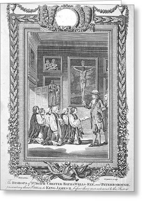 James II (1633-1701) Greeting Card