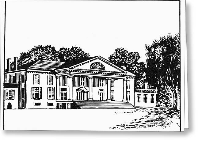 James Madison: Montpelier Greeting Card by Granger