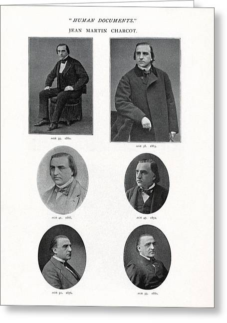 Jean-martin Charcot, French Neurologist Greeting Card by Humanities & Social Sciences Librarynew York Public Library