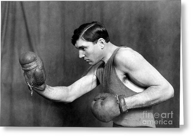 Jess Willard (1883-1968) Greeting Card by Granger