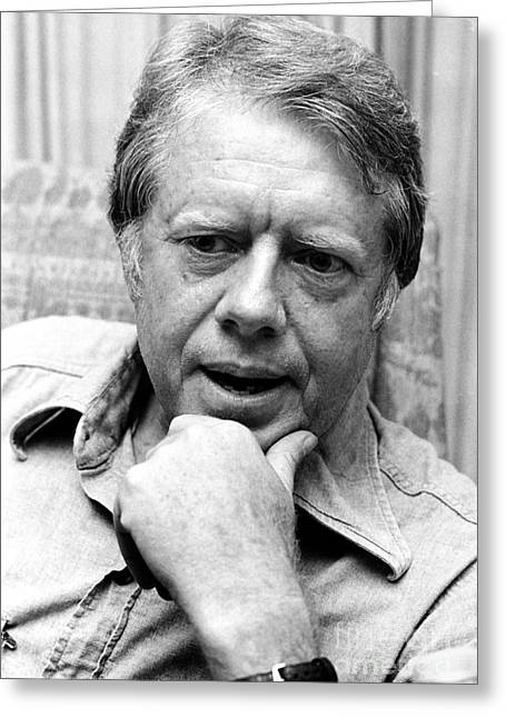 Jimmy Carter (1924- ) Greeting Card