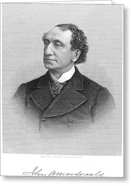 John Alexander Macdonald Greeting Card by Granger