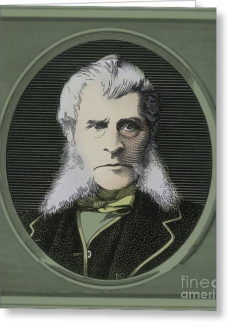 John Bigelow, American Diplomat Greeting Card by Photo Researchers