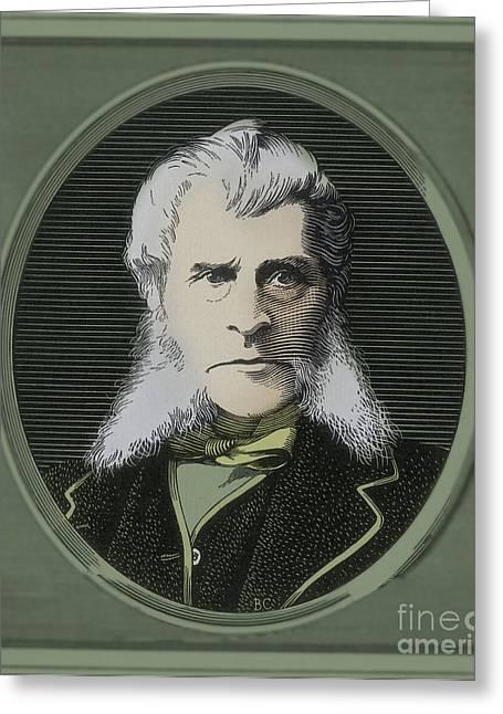 John Bigelow, American Diplomat Greeting Card