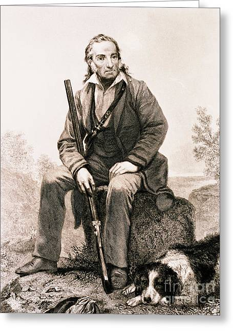 John James Audubon, French-american Greeting Card by Science Source