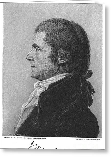 John Marshall (1755-1835) Greeting Card by Granger