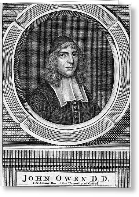 John Owen (1616-1683) Greeting Card by Granger