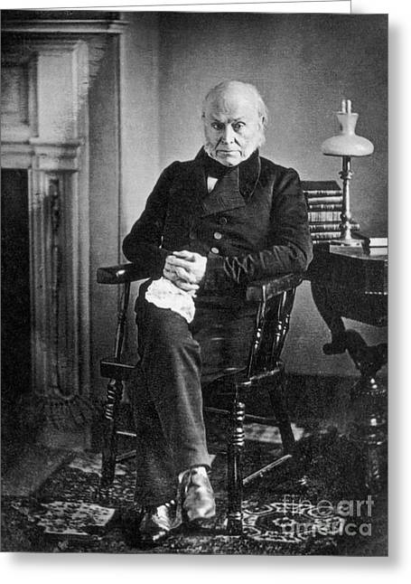 John Quincy Adams, 6th American Greeting Card by Photo Researchers