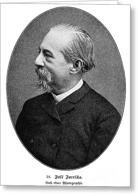 JosÉ Zorrilla Y Moral Greeting Card by Granger