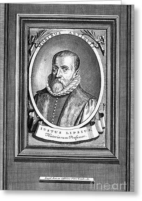 Justus Lipsius (1547-1606) Greeting Card by Granger