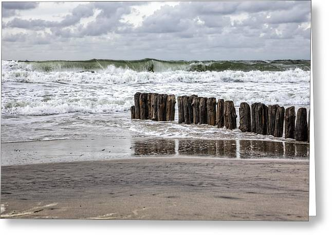 Kampen - Sylt Greeting Card by Joana Kruse