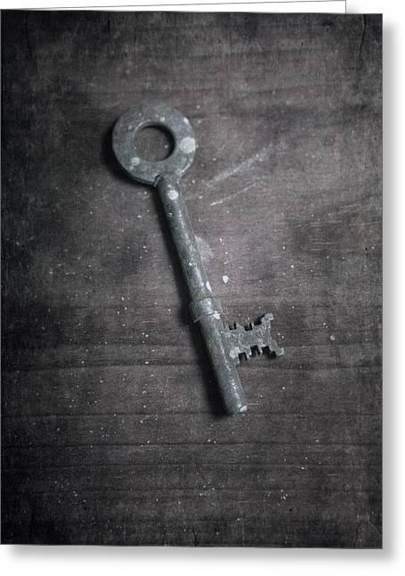 key Greeting Card by Joana Kruse