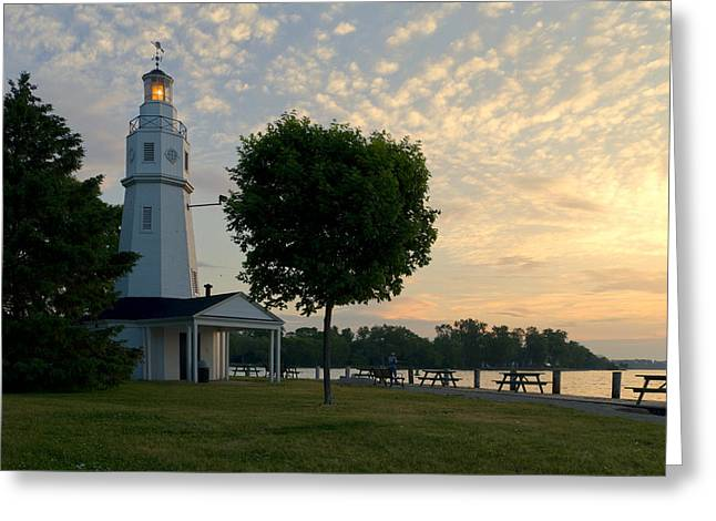 Kimberly Point Lighthouse Greeting Card by Joel Witmeyer