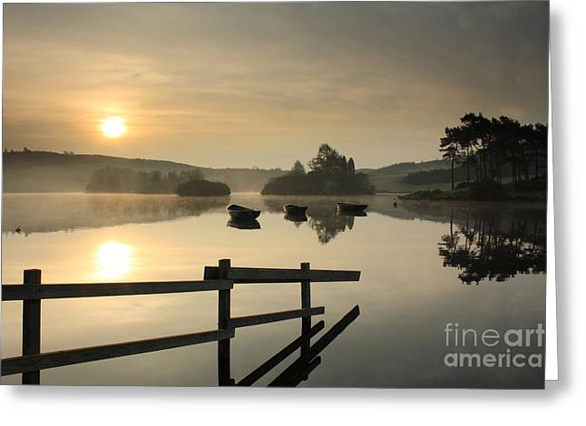 Knapps Loch Sunrise Greeting Card