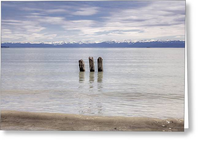 Lake Constance Greeting Card by Joana Kruse
