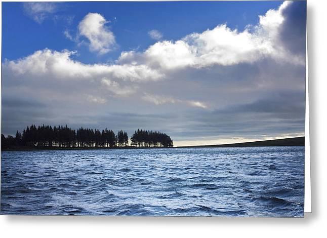 Lake In Auvergne Greeting Card by Bernard Jaubert