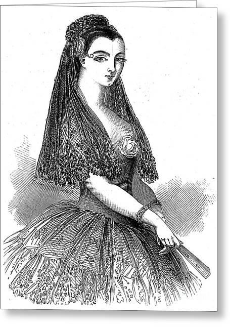 Lola Montez (1818-1861) Greeting Card by Granger