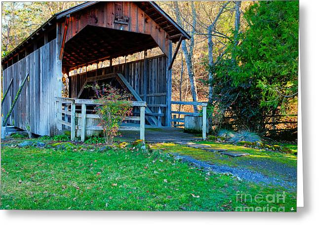 Lost Creek Bridge Greeting Card