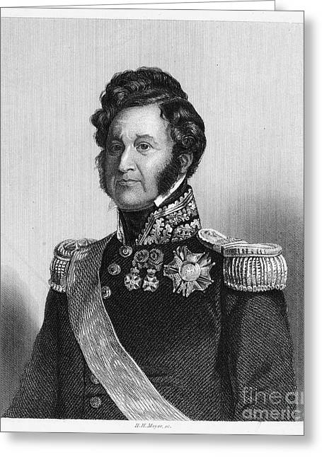 Louis Philippe (1773-1850) Greeting Card by Granger