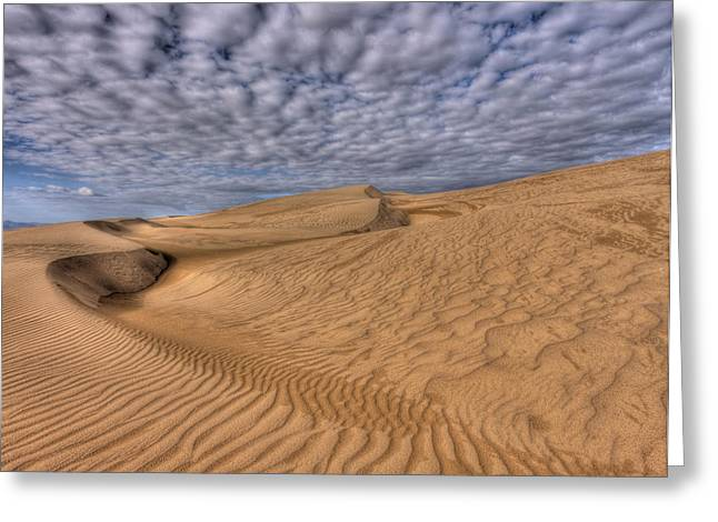Magic Of The Dunes Greeting Card by Beth Sargent