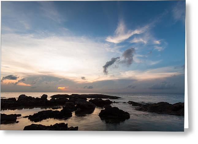 Malagasy Sunset Greeting Card