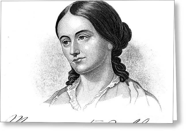 Margaret Fuller (1810-1850) Greeting Card by Granger