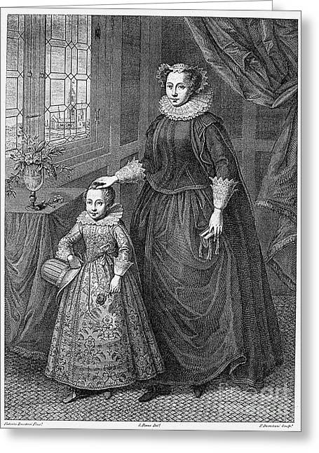 Mary, Queen Of Scots Greeting Card by Granger