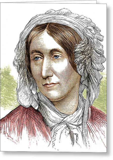Mary Somerville, Scottish Polymath Greeting Card by Science Source