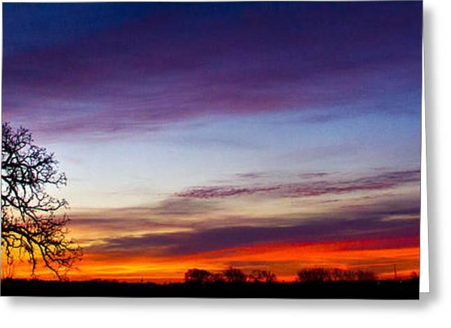 Morning Glow Greeting Card by Phil Koch
