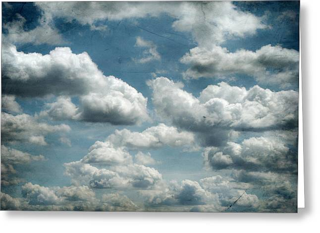 My Sky Your Sky  Greeting Card by Jerry Cordeiro