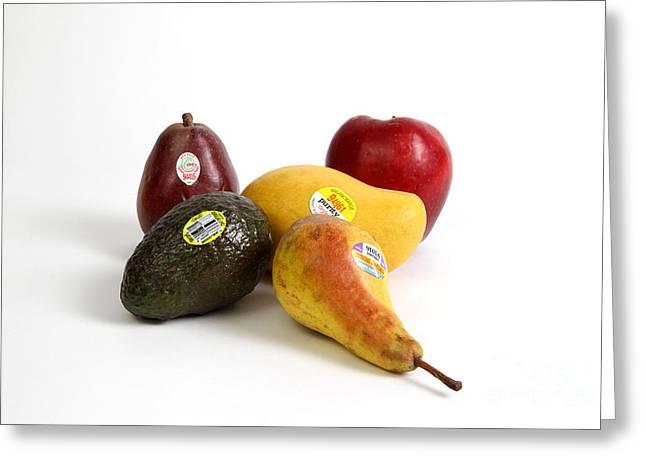 Organic Produce Greeting Card