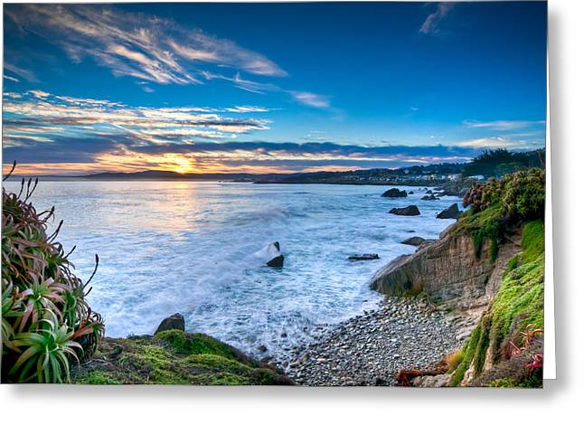 Pacific Grove Sunrise Greeting Card