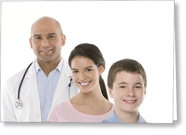 Paediatric Doctor Greeting Card