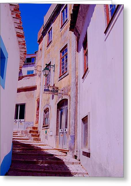 Paisajes Del Algarve Greeting Card by Eire Cela