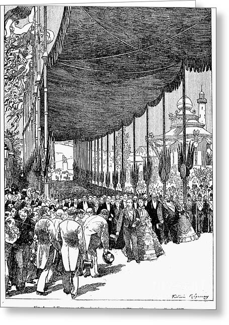 Paris: Exposition Of 1867 Greeting Card by Granger