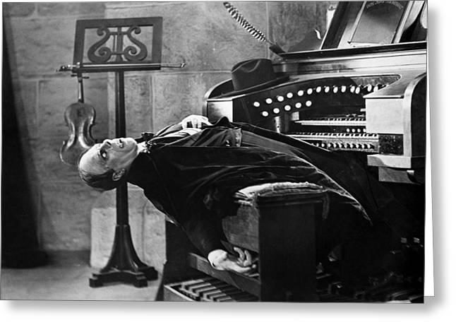 Phantom Of The Opera, 1925 Greeting Card by Granger
